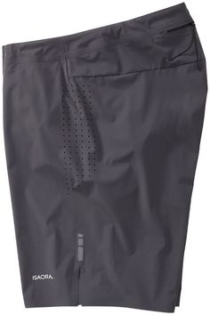 "ISAORA Sportswear - 8.5"" No Sew Welded Training Short:"