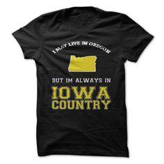 Oregon Iowa Country #sport #tshirt