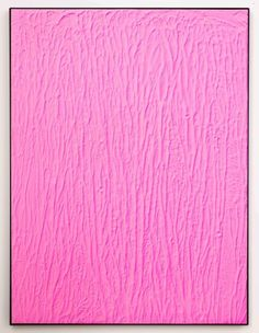 Michael Staniak - Acrylic and casting compound on board - #pink #minimalist