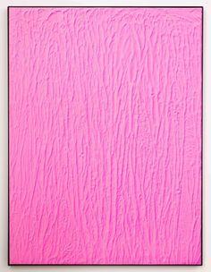 Michael Staniak - Acrylic and casting compound on board - #pink #minimalist