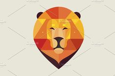 Lion by sollia on @creativemarket