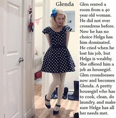 Hard TG Captions: Forced to be Glenda Sissy TG Caption Girly Captions, Tg Captions, Petticoated Boys, Captions Feminization, Feminize Me, She Girl, Special Girl, Old Women, Dress Me Up