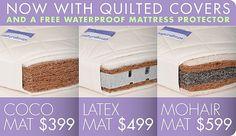 Natural Mat : Organic mattress, natural mattress, & organic baby mattress