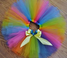 Over The Rainbow Tutu  Witt's End Boutique : Hand Made Tutus