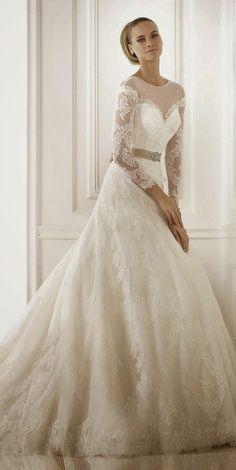 Pronovias 2015 Wedding Dresses Collection Part 3 ~ GLOWLICIOUS