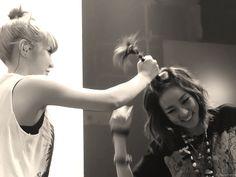 hhahaha Bom and Dara