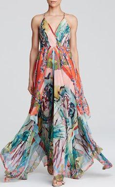 beautiful handkerchief dress