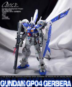 GUNDAM GUY: RE/100 RX-78 GP04G Gundam GP-04 (Gebera) - Customized Build