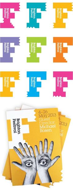 New identity for Brighton Dome and Festival by Johnson Banks | UK | 2013