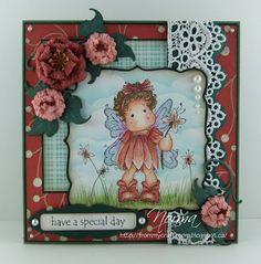 Summer Flower Tilda from Magnolia stamps