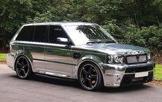 Range Rover Sport Gets Chromed by Revere London.