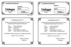 download undangan tahlil 1 lembar isi 2 Microsoft Word 2010, Microsoft Excel, Microsoft Office, Muslim Wedding Invitations, Comic Book Template, Kids Math Worksheets, Math For Kids, Game App, Clothing Hacks