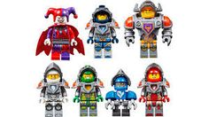 Lego Nexo Knight Clay Punch Art