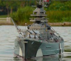 Rc Battleships | RC BATTLESHIP BISMARCK – INCREDIBLE SCALE – HIGHLY DETAILED ...