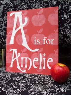 Alphabet Name - Personalised Sign £40+p