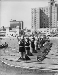1930's Long Beach girls.