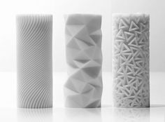 Risultati immagini per all printed ceramic FDM 3d Pattern, Surface Pattern, Surface Design, Pattern Design, Impression 3d, 3d Printed Objects, Digital Fabrication, Parametric Design, 3d Prints