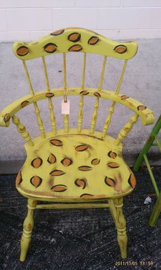 Old wooden chair. Old Wooden Chairs, Home Furnishings, Recycling, Decorating, Home Decor, Decor, Decoration, Decoration Home, Room Decor