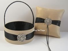 Wedding Ring Bearer Pillow Ring Pillow and by LaceyClaireDesigns, $89.00