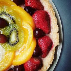 Fruit Tart.