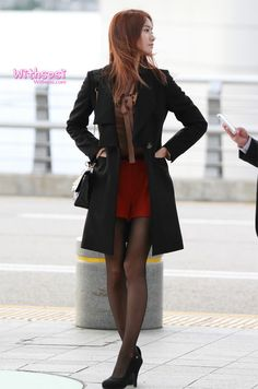 Im Yoona Airport Fashion @Power Miracle