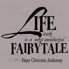a most wonderful fairytale