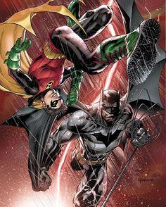 Batman and Robin by Ardian Syaf  #batman #robin #batmanandrobin