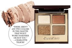 Charlotte Tilbury's Luxury Palette in The Dolce Vita |  Proven: 3 Makeup Shades That Look Great on Everyone | ELLE.com