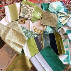 Green Fabric, Headboards, Drapery, Upholstery, Bedding, Fabrics, Houses, Pillows, Projects