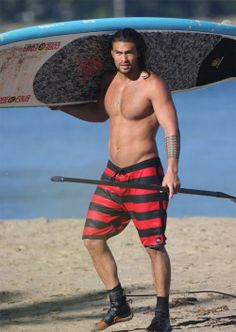 Jason Momoa game of thrones.. This might be more my body type.. Now to stay focused :-/