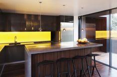 Glass Splashback kitchen RGB light