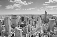 Our Black & White New York Panorama Wallpaper Mural is the choice design for creating a feature wall that turns heads and looks absolutely fantastic. Black And White Picture Wall, Black And White City, Black And White Pictures, Black Aesthetic Wallpaper, Aesthetic Backgrounds, Aesthetic Wallpapers, Gray Aesthetic, Black And White Aesthetic, Grey Wallpaper Iphone