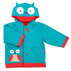 Skip Hop Zoo little kid raincoat