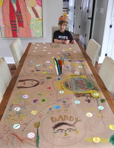 Kid Made: Thankful Table
