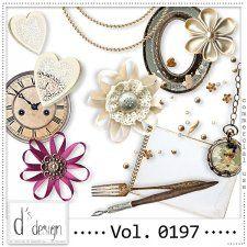 Vol. 0197 - Vintage Mix  by Doudou's Design  #CUdigitals cudigitals.com cu commercial digital scrap #digiscrap scrapbook graphics