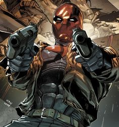 Jason Todd as the Red Hood by Clay Mann.