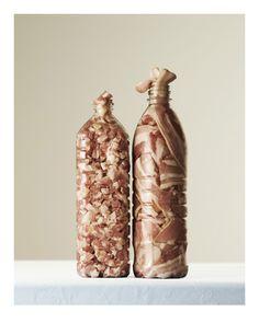 Are You Full? Per Johansen's Stuffed Food Series