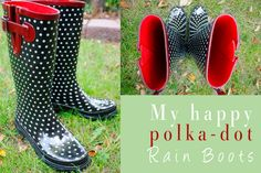 Every Girl must own cute rainboots