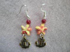 Earrings 057 Star of the Sea by AllMyEarrings on Etsy