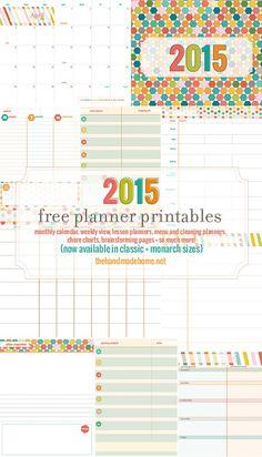 free planner printables 2015 pdf