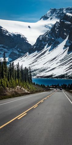 Beautiful Roads, Beautiful Landscapes, Road Photography, Landscape Photography, Nature Pictures, Travel Pictures, Banff National Park, National Parks, Natur Wallpaper