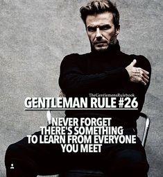 Gentleman rule #26