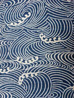 青海波 わたしの一番好きな日本のパターン  Wave, Neville Trickett