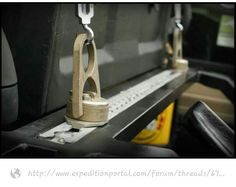Great addition to a roof rack or the rear cargo area.