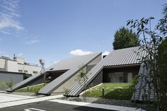 Completed in 2014 in Japan. Images by Masato Kawano / Nacasa & Partners. This building is located in Nishio-shi, Aichi where the taste of the castle town remains, Japan.  We provided the open space such as the park to the...