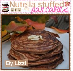 """Nutella stuffed pancakes.(:♥"" by the-polyvore-tipgirls ❤ liked on Polyvore"
