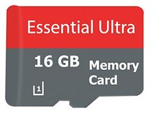 Essential ULTRA 16GB Huawei Y5 SmartPhone MicroSDHC Card with custom format for Hi-Speed Lossless certified recording! With SD Adapter. (Class 10, up to 500x or 70MB/sec)