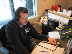 Bryan Hayes over the air waves on TSN 1050