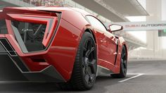 HD Background Project Cars Lykan Hypersport Red Supercar Wallpaper ...