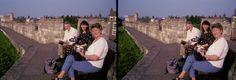 Hugo & Greet de Wijs with Susan in Yorke UK by David Starkman | by reel3d1